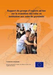Rapport du groupe d'experts ad hoc sur la transition des ... - CFHE