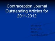 Contraception Journal - Association of Reproductive Health ...