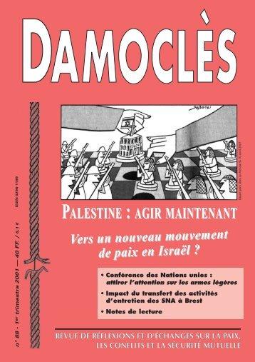 PALESTINE : AGIR MAINTENANT - L'observatoire des armements