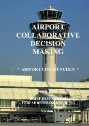 Airport CDM München - Flughafen München