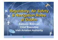 Regulatory, Air Safety & Navigation Roles at Dublin Regulatory, Air ...