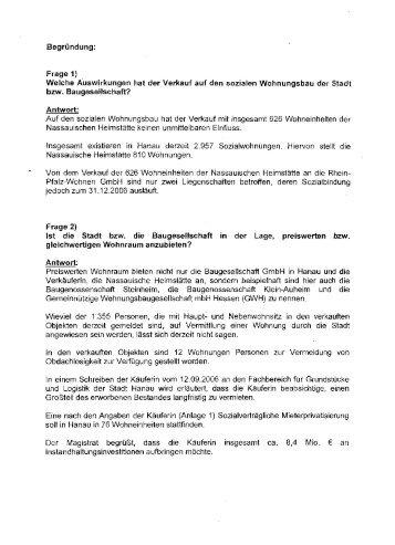 Deutsche Wohnen - DIE LINKE. Hanau