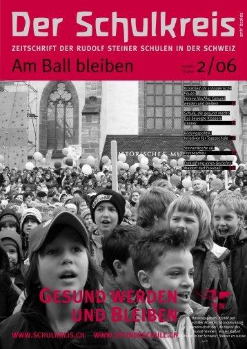 RUDOLF STEINER UND DER FUSSBALL ... - s (www.schulkreis.