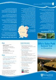 Offa's Dyke Path - Shropshire Walking