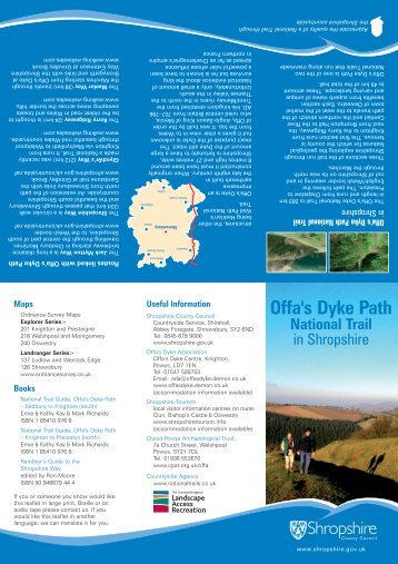 Offa's Dyke Path - Shropshire Walking