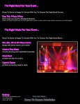 Corporate Events Dances Parties BBQs ... - Room To Dance - Page 3