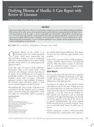 Ossifying Fibroma of Maxilla: A Case Report with Review of ... - IJMD
