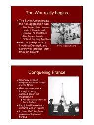 WWII Europe III - Fall River Public Schools