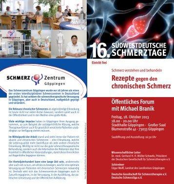 Programm als PDF downloaden... - 16. Südwestdeutsche ...