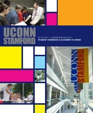 Student Handbook - Stamford Student Services - University of ...