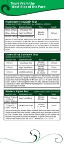 Red bus tourS - Glacier Park Inc. - Page 4