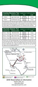 Red bus tourS - Glacier Park Inc. - Page 5