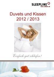 Duvets und Kissen 2012 / 2013 - ceha5