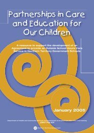 Partnerships in Care and Education for Our Children - DHCS Digital ...