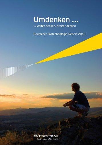 German Biotech Report 2013 - BIO Deutschland
