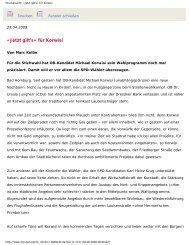 Taunus Zeitung 29. April 2009
