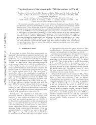 arXiv:astro-ph/0307282 v1 15 Jul 2003 - iucaa