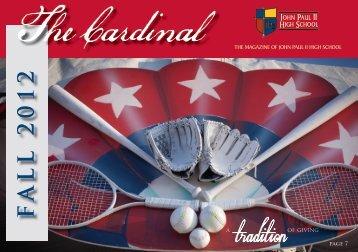 F ALL 2012 - John Paul II HS