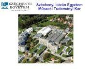 Közlekedésmérnöki (2005) - Széchenyi István Egyetem