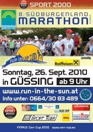 Download der Ausschreibung 2010 - Austria-Sites
