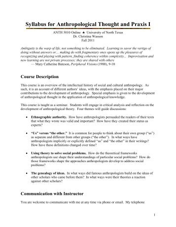anth 2250.001 introduction to sociocultural anthropology - unt, Powerpoint templates