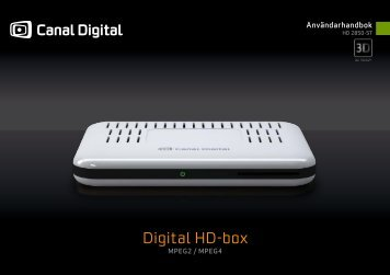 Digital HD-box - Canal Digital