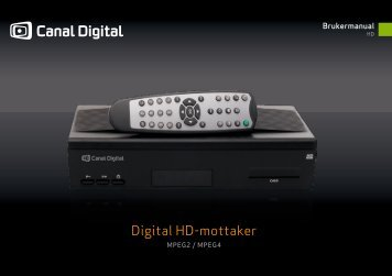 Digital HD-mottaker - Canal Digital Parabol