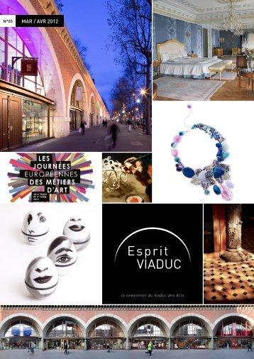 MAR / AVR 2012 - Viaduc des Arts
