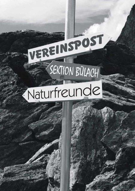 November/Dezember 2013 - Naturfreunde Sektion Bülach