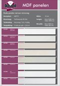 HDF panelen - Roommade - Page 6