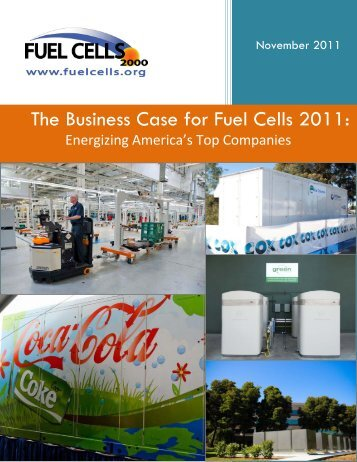 The Business Case for Fuel Cells 2011: - Ballard Power Systems