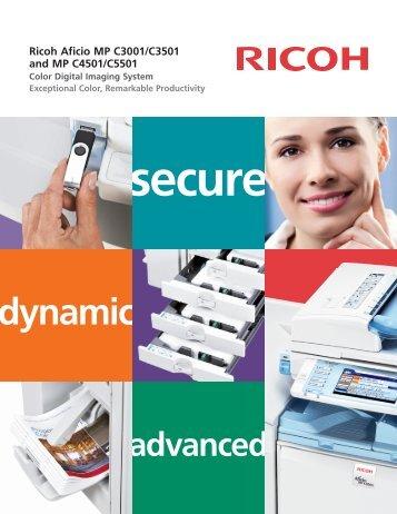 Ricoh Aficio MP C Drivers Download - Update Ricoh Software