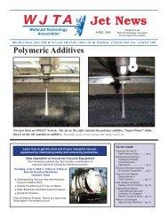 April - Waterjet Technology Association