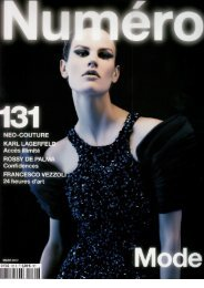 Numéro March 2012 - Studio Marisol