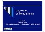 DayWater en Île-de-France - Ekopolis