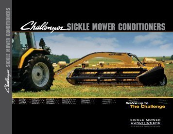 sickle mower conditioners - Challenger