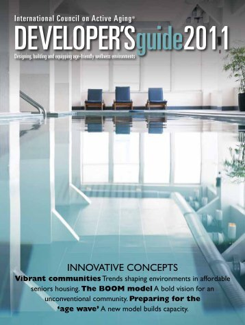 Developer's guide 2011 - International Council on Active Aging