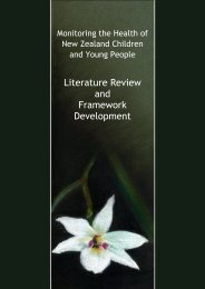 Literature Review and Framework Development - The Paediatric ...