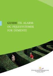 guide til alarm- og pejlesystemer for demente - Socialstyrelsen