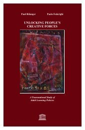 UNLOCKING PEOPLE'S CREATIVE FORCES - Unesco