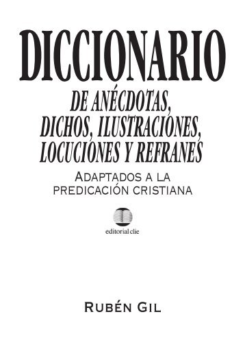 diccionarioanecdotas.. - Editorial Clie