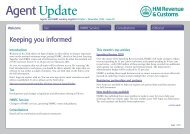 Issue 20 of Agent Update - Taxation