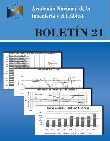 BOLETÍN 21 - Academia Nacional de la Ingeniería y el Hábitat