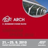 ZÁVĚREČNÁ ZPRÁVA 2010 - For Arch