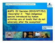 Non-indigenous species introduced by human activities ... - perseus