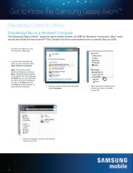 Syncing with Mac or PC - US Cellular