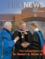 Volume 44, #3 - December 2006 - Houston Baptist University