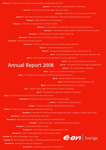 Annual Report 2008 - E-on