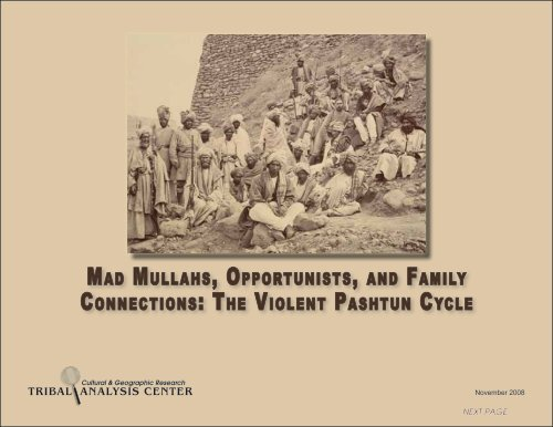 Mad Mullahs, Opportunists, and Family ... - Tribal Analysis Center