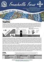 Newsletter-2013-03-14 - Frenchville State School - Education ...